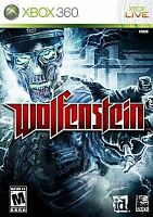 Wolfenstein Microsoft Xbox 360 Game **DISC ONLY** Tested