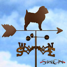 Hand Made Brussels Griffon Dog Weathervane *NEW*