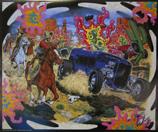 ROBERT WILLIAMS COWBOYS AND AMOEBAS LOWBROW ART POSTER