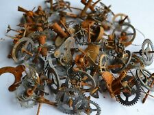 Steampunk Vintage  Clock  parts, wheels of 130 Grams CLP # 004