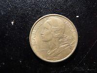 1963 FRANCE REPUBLIQUE FRANCAISE 50 CENTIMES COIN!  ZZ204XXX