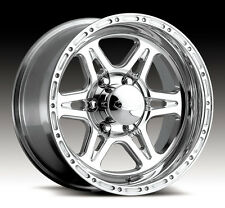 4-NEW Raceline 886 Renegade 6 16x8 6x139.7 +0mm Polished Wheels Rims