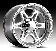 4-NEW Raceline 886 Renegade 6 16x8 6x139.7 +0mm Polished Wheels Rims