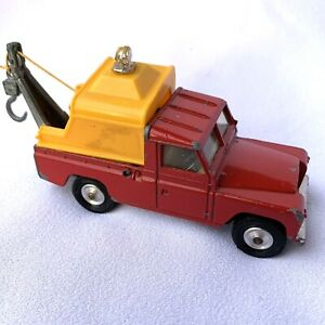 Corgi Toys 477 Red Land Rover 109 WB Breakdown Service Tow Truck Great Britain