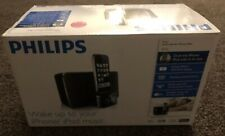 Philips DC 220 Clock Radio With IPhone And IPod Dock