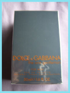 Dolce & Gabbana THE ONE GENTLEMAN  50ml EDT - NEW SEALED - UK STOCK discontinued