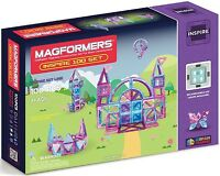 Magformers 63212 100 Pcs Inspire Magnetic Construction Set Magnets AUTHENTIC NEW