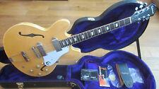 Epiphone Elitist 1965 Casino 2006 natural-Japón-Gibson pastillas de EE. UU.