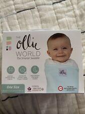 NIB *New* The Ollie World Blue Swaddle One Size