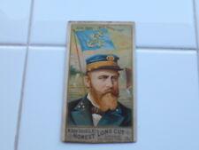 RARE Antique 1887 Duke Honest Long Cut Tobacco Card Sea Captains Julius Barre