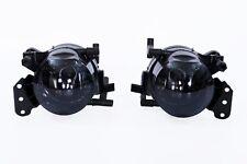 2x Schwarzglas Nebelscheinwerfer Satz für BMW 3er E46 E90 E91 5er E60 E61