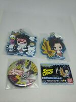 3pc Shaman king figure keychain charm strap pin badge button anime kawaii lot