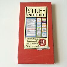 Sticky Notepad / To Do List / I Need To Do / Page Maker 600 Pieces