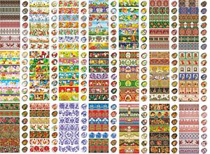 Heat Shrink Sleeve Decoration Sticker Easter Egg Wraps Pysanka Pysanky Pisanki