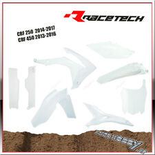 FULL KIT PLASTICHE RTECH RTECH HONDA CRF 450 13-16 CRF 250 14-17 + COPRISTELI