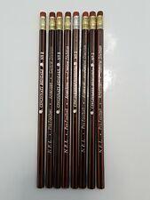 8 Vntg NFL Football American Central Division Cincinnati Benegals Pencils