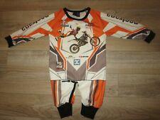 Travis Pastrana Motocross AMA Racing Yamaha Racing Suit Baby Toddler 0-6m