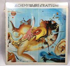 Alchemy - Dire Straits Live Vinyl Record - 2 LP Album (VERY 11, 818 243-1) 1984