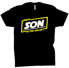 Best Son In The Galaxy Shirt Gift Tee T Shirt Black T-Shirt
