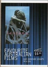2008 STAMP BOOKLET FAVOURITE AUSTRALIAN FILMS - LANTANA - 10 x 55c STAMPS MUH