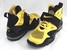 NIKE AIR MAX Shoes Yellow/Black 525224 High Top Sneakers Men's US 9.5 EU 43 RARE