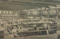 Vintage 1910 Interior Orange Packing House Fort Myers Florida Postcard