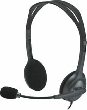 Logitech 981-000612 H111 Stereo Headset With Noise-cancelling Microphone - Black