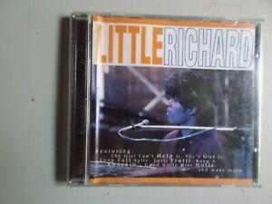 LITTLE RICHARD,SAME,18 TRACK CD ALBUM,MCPS CZECH QED086