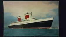 S. S. United States , United States Line. Colour Postcard. Unposted.