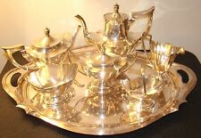 Sterling Gorham PLYMOUTH tea set with matching tray (7 piece set) ! BEAUTIFUL!!!