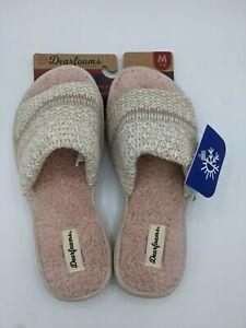 Dearfoam Memory Foam House Slippers - Medium Size 7-8