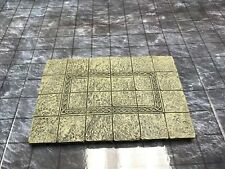 New In Box Dwarven Forge Master Maze Painted Resin 4 x 6 Floor Tile D&D
