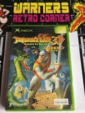 Xbox Japan Import Dragons Lair Retro Gaming Boxed Game