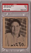 1939 Play Ball Joe Heving #20 PSA 3 CS118
