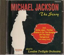 MICHAEL JACKSON -  THE STORY  PLAYED BY LONDON TWILIGHT ORCHESTRA - 92024543