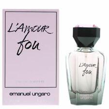 Emanuel Ungaro L'Amour Fou Eau de Toilette 50ml Spray Women's NEW. EDT For Her