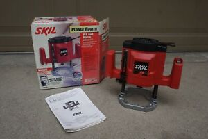 SKIL Plunge Router Model 1823 9.0 AMP Motor 1.75HP 25,000 RPM Made in USA *NOS*