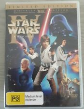 Star Wars Episode IV A New Hope (2 Disc DVD Limited Edition w/ Booklet) Rare OOP