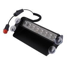 Auto /Car LKW 8-LED Dash Strobe Flashlight Blitzer Licht Warnleuchte Blinklicht