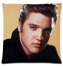 "Hollywood Rock Star Elvis Presley 17"" Square Cushion Cover Pillow Case Gift"