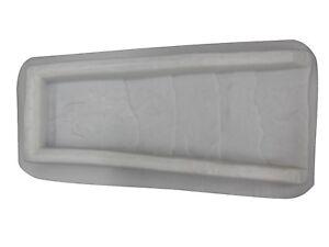Slate Look Downspout Splash Guard Concrete Cement Mold 7047 Moldcreations