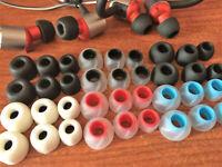 JBL Reflect Mini Contour 2 Wireless Headphones Ear Tips Ear Buds Memory Foam