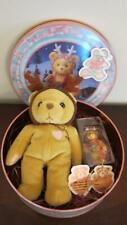 Cherished Teddies Plush Gift Set - 1999 Holiday Collectible Tin First In Series