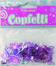 Princess Castle Hearts Stars Pink Party Confetti Foiletti Decoration 14-84g