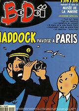 Bo Doï n°40 Avr. 2001 Haddock Tintin Musée de la Marine Hergé TBE Moulinsart