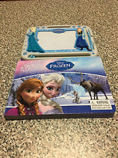 Disney Frozen Etcha sketch Magnetic Drawing Kit And Story Book
