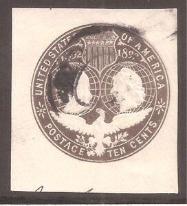 US   Sc# U351   Used   1893   Cat Val $30    gtc6