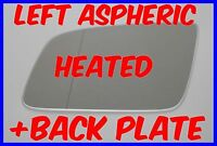 HOLDEN COMMODORE VE 2006-2013 WING MIRROR GLASS ASPHERIC HEATED LEFT +PATE