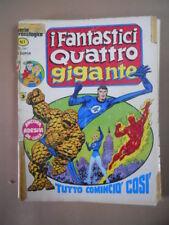 I FANTASTICI QUATTRO GIGANTE n°1 1978 ED. Corno  [SP14]