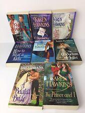 Karen Hawkins Lot 8 Books Historical Romance Novel Fiction Paperback VG Collecti
